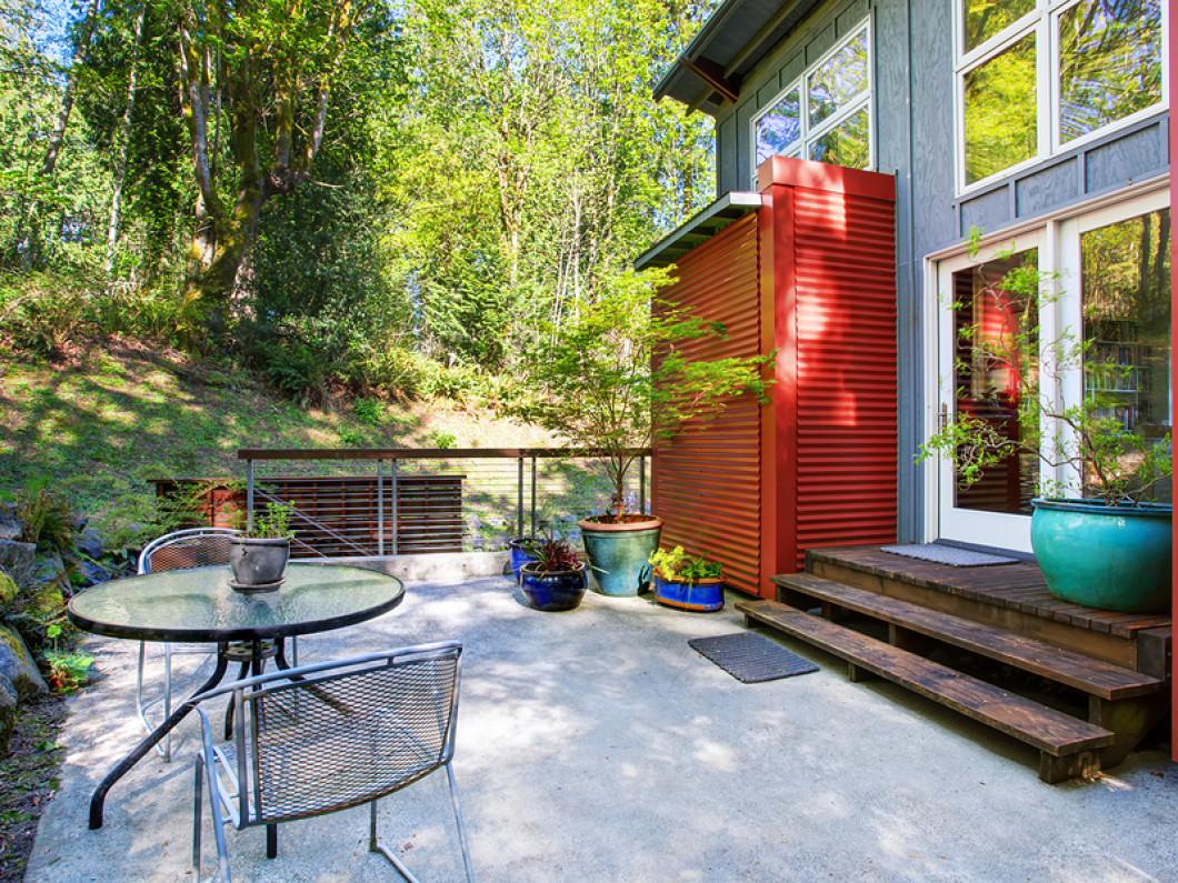 A concrete patio offers numerous benefits